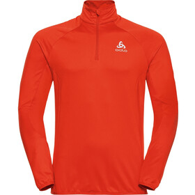 Odlo Carve Light Midlayer met 1/2 rits Heren, orange.com